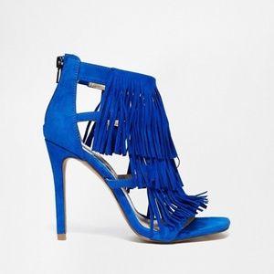 Steve Madden Blue Suede Shoes